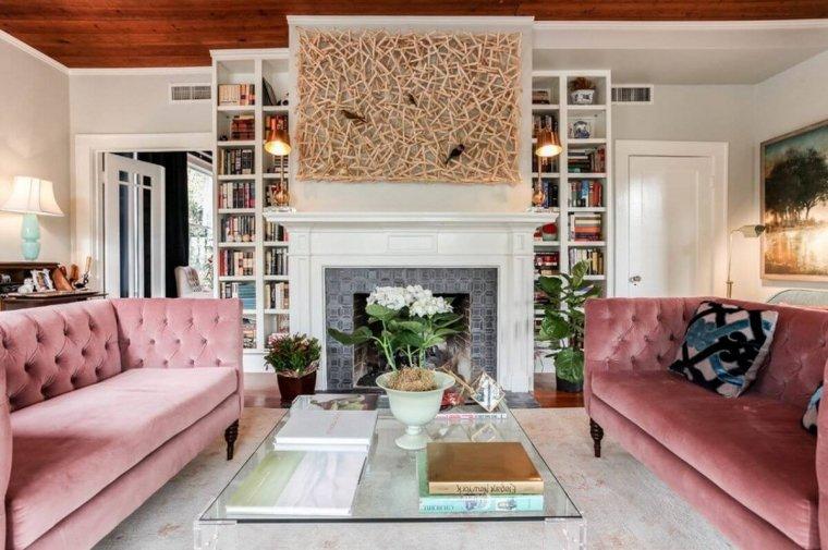 Roze bank - Ventiro - interieur blog