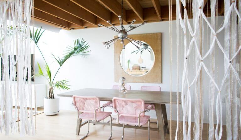 Een macrame wandhanger - Ventrio - Interieurblog - woonblog
